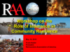 Cover RAA - Role of Ins in Community Resilience